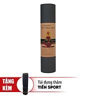 Thảm Tập Yoga Eco Friendly TPE Tặng Kèm Túi Đựng Thảm - Rêu (8mm) thumbnail