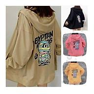 Áo khoác hoodie In Hình xác ướp form rộng, dành cho nam cho nữ chất nỉ ngoại phong cách Unisex ulzzang thumbnail