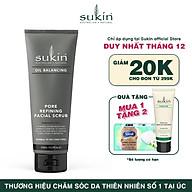 Kem tẩy tế bào chết cân bằng dầu Sukin Oil Balancing Pore Refining Facial Scrub 125ml thumbnail