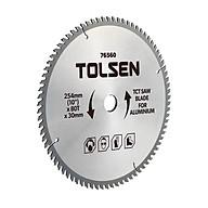 Đĩa Cắt Gỗ Tolsen 76540 - Bạc (210mm x 60T x 30mm) thumbnail