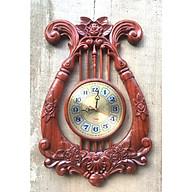 Đồng hồ gỗ GÕ ĐỎ, HƯƠNG ĐỎ kim trôi thumbnail