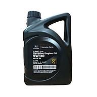 Dầu nhớt HYUNDAI - chính hãng phân phối - dùng cho xe ô tô máy xăng (ACEA A5 5W 30) (4L can) thumbnail