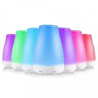 Máy khuếch tán tinh dầu siêu âm tạo ẩm chóp cụt - máy xông tinh dầu phun sương Aramacs thumbnail