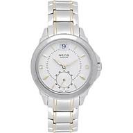 Đồng hồ Neos N-30830L nữ dây thép cao cấp thumbnail