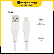 Cáp Light-ning 2 m AVA U-Shape Trắng - Hàng chính hãng thumbnail