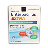 Men Tiêu Hóa Cho Bé Enterbacillus Extra bổ sung 2 tỷ lợi khuẩn, giảm rối loạn tiêu hóa do loạn khuẩn đường ruột - Hộp 20 ống siro Sử dụng cho bé từ 6 tháng tuổi thumbnail