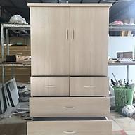 Tủ 2 cánh 4 ngăn kéo rộng 85cm cao 1m4 thumbnail