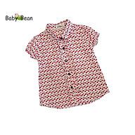 Áo Sơ Mi Cotton Chấm Bi & Họa Tiết bé gái BabyBean thumbnail