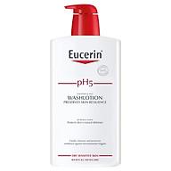 Sữa Tắm cho Da Nhạy Cảm Eucerin pH5 WashLotion (1L) (Có Mùi) thumbnail