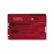 Dao xếp đa năng SwissCard Lite màu đỏ, trong hộp 0.7300.T Victorinox thumbnail