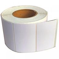 Decal thường 100x150mm, cuộn 50m, 1 tem hàng in mã vạch tên, nhãn sản phẩm thumbnail