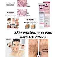 Kem dưỡng ngăn ngừa nám và tàn nhang Achromin Whitening Cream and UV filters 45ml thumbnail