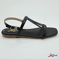 [ ] Giày Sandal Nữ Đế Bệt Quai Mảnh Ôm Chân, Chất Lương Cao Cấp Êm Chân. thumbnail