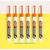 Hộp 6 cây bút sơn Baoke - MP560 màu cam thumbnail