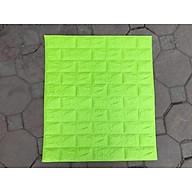 Combo 10 tấm xốp dán tường giả gạch zkl9 mầu xanh cốm 9 thumbnail