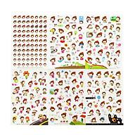 Bộ 6 tấm sticker trang trí Ong vàng thumbnail