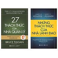 Combo Sách Quản Trị - Lãnh Đạo Những Thách Thức Của Nhà Lãnh Đạo + 27 Thách Thức Của Nhà Quản Lý thumbnail