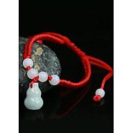 Vòng tay may mắn hồ lô hút lộc ngọc tự nhiên CD01 (Giao mầu theo tự nhiên) thumbnail