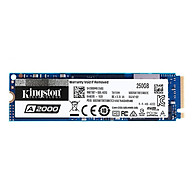 Kingston A2000 Solid State Drive NVMe PCIe SSD High Speed Reading Writing SSD Compact Shockproof M.2 NVMe SSD 500GB thumbnail