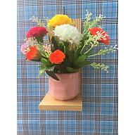 kệ treo tường trang trí đựng chậu hoa cây cảnh xinh không cần khoan tường kích thước 30x10x10 cm thumbnail