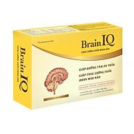 Thực phẩm chức năng Brain IQ tăng cường tuần hoàn não, dưỡng tâm an thần giúp ngủ ngon cải thiện trí nhớ thumbnail