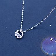 Dây Chuyền Bạc Nữ Đính Đá DB2424 Bảo Ngọc Jewelry thumbnail