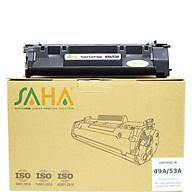 Mực in SAHA 49A 53A sử dụng cho HP Laser 1160, 1320 P2014, P2015 Canon LBP 3300 (CRG-308), 3310, 3370 (CRG 315) - Hàng chính hãng thumbnail