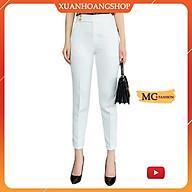 Quần Tây Nữ Công Sở Mc Fashion, Lưng Cao, Cạp Đẹp, Kiểu Dáng Ống Baggy Âu ( Đen, Trắng, Be, Nâu, Côn, Đứng, Vẩy ) Q0441 thumbnail
