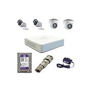 Trọn Bộ 4 Camera Hikvision 1080P (Nhà Riêng, Văn Phòng) Hàng Chính Hãng thumbnail