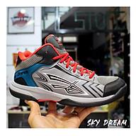 Giày bóng chuyền, giày bóng rổ nam SKY DREAM Màu xám đỏ - Hàng phân phối chính hãng thumbnail