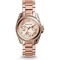 Michael Kors Women s Blair Rose Gold-Tone Watch MK5613 thumbnail