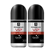 Bộ đôi Lăn khử mùi Romano Vip Passion mạnh mẽ bí ẩn 50m chai thumbnail