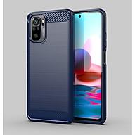 Ốp lưng chống sốc Vân Sợi Carbon cho Xiaomi Redmi Note 10 - Hàng nhập khẩu thumbnail