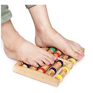 Dụng cụ massage chân bằng Gỗ cao cấp, Cây lăn chân 6 thanh Gỗ siêu tiện dụng-GD437-Massage-ChanGo thumbnail