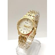 Đồng hồ Nữ Halei cao cấp - HL552 Dây vàng mặt trắng thumbnail