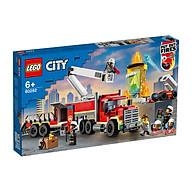 Đồ chơi LEGO City Xe Đầu Kéo Chữa Cháy 60282 thumbnail