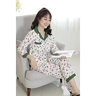 FEMEI - Bộ pyjama dài tay lụa hàn PND011 thumbnail