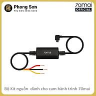 Dây nguồn Hardware Kit 70mai , đấu trực tiếp điện cho Camera hành trình 70mai Dash Cam A800 -Hàng Chính Hãng thumbnail