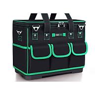 Túi đựng đồ nghề - Chống nước đế nhựa có nắp vuông thumbnail