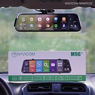 Camera hành trình gương android Navicom M96 Plus chính hãng thumbnail