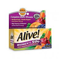 [Thực phẩm chức năng] Vitamin Tổng Hợp Nữ Giới Trên 50 Tuổi Alive Women s 50+, 50 Viên thumbnail