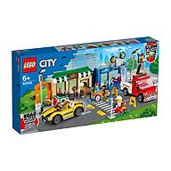 Đồ chơi LEGO City Khu Phố Mua Sắm 60306 thumbnail