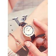 Đồng hồ nữ mặt nhỏ xinh xắn thời trang nhiều màu HLoios - Hàng nhập khẩu thumbnail