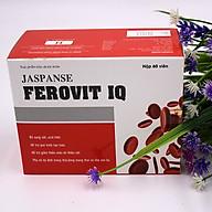 Thực phẩm bảo vệ sức khỏe Jaspanse Ferovit IQ giúp bổ sung sắt, acid foric hỗ trợ giảm thiếu máu do thiếu sắt thumbnail