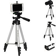 Giá đỡ 3 chân Selfie Tripod 3110 Cho điện thoại và máy ảnh tặng kèm túi vải cá tính thumbnail