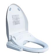 Nắp bồn cầu thông minh Mirai MR01 - rửa nước ấm hai chế độ, sưởi ấm bệt ngồi, massage, sấy khô, màu trắng thumbnail