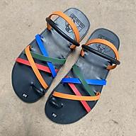 Dép cao su 7 quai xỏ ngón thời trang màu sắc quai nhỏ thumbnail