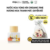 Nước Hoa Vùng Kín Organic Fine Hương Hoa Thanh Mát Quyến Rũ RE P Natural Herb Inner Balance Fine 5ml (Có che tên) thumbnail