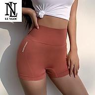Quần tập gym ,yoga, earobic dành cho nữ cạp cao( nâng mông tôn dáng) LN208 thumbnail