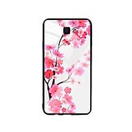 Ốp Lưng Kính Cường Lực cho điện thoại Samsung Galaxy J7 Prime - Cherry Blossom 02 thumbnail